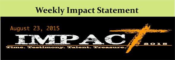 Microsoft Word - Weekly Impact Statement.docx