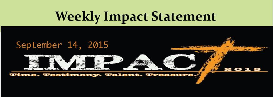 September 13 IMPACT