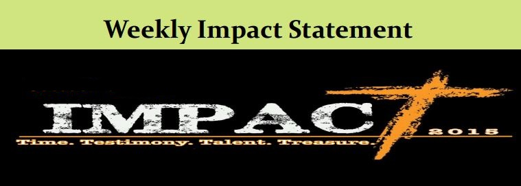 10.11 Weekly Impact Statement